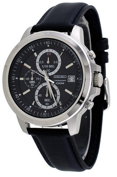 Seiko Chronograph Men's Quartz Watch SKS453