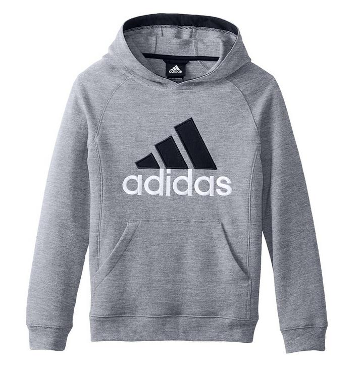 adidas Big Boys' Core Cotton Fleece Pull Over
