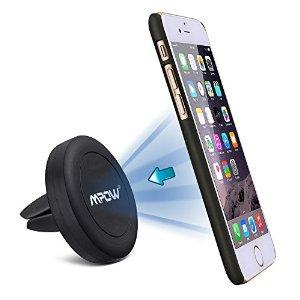 $4.99 Mpow Grip Magic Air Vent Magnetic Car Mount Holder
