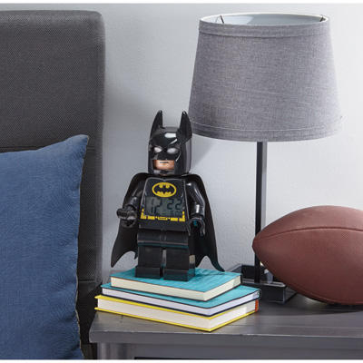LEGO Kids' 9005718 Super Heroes Batman Alarm Clock