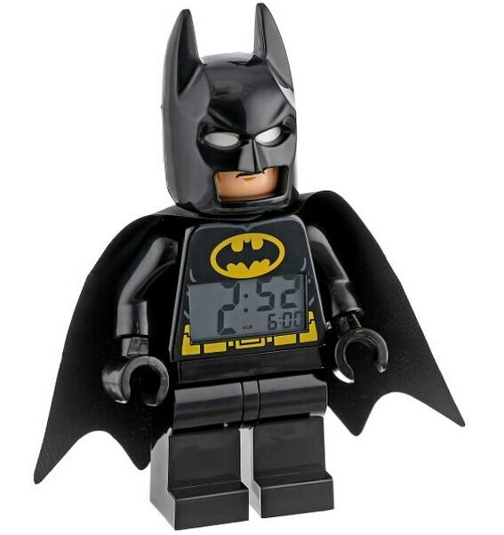 $17.49 LEGO Kids' 9005718 Super Heroes Batman Alarm Clock @ Amazon.com