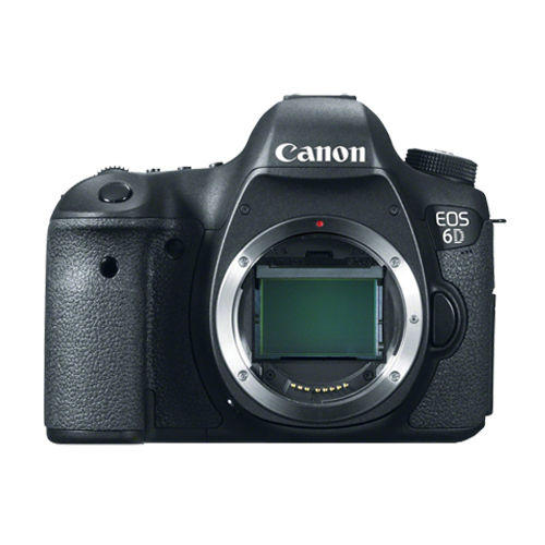 Canon EOS 6D Digital SLR Camera Body (BLACK) - BRAND NEW DSLR