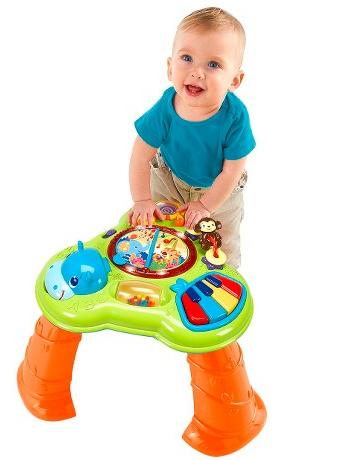 Bright Starts Safari Sounds Musical Learning Table @ Target.com