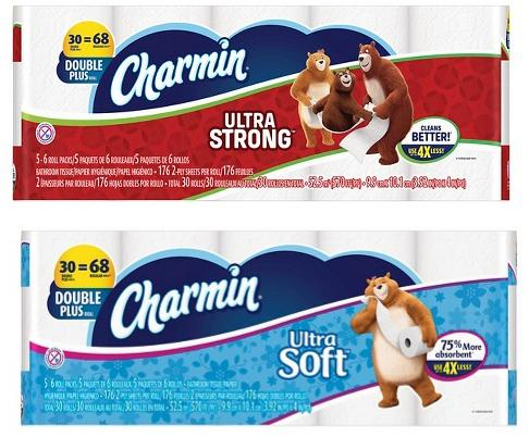 Charmin Ultra Soft Toilet Paper 30 Double Plus Rolls @ Target.com