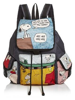 LeSportsac Peanuts Snoopy Voyager Backpack @ Bloomingdales