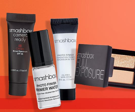Free 4 Piece Smashbox Deluxe Samples with Orders of $50 or More @ ULTA Beauty