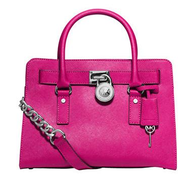 MICHAEL MICHAEL KORS Leather East West Satchel @ Lord & Taylor