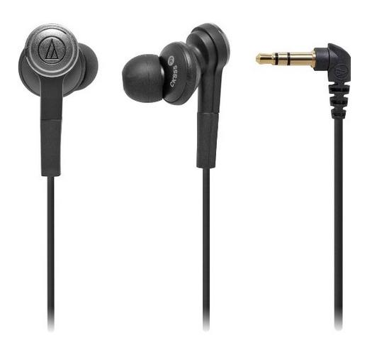 Audio-Technica ATH-CKS55USBKSolid Bass In-Ear Headphones