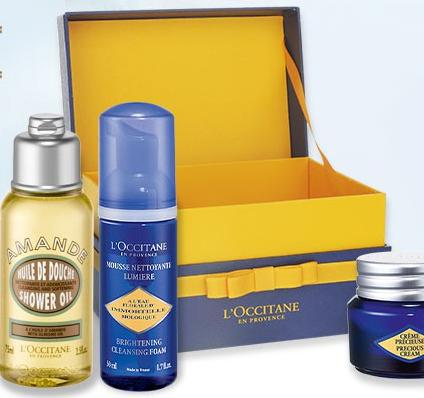 Free Precious Summer Collection with Any $110 Purchase @ L'Occitane
