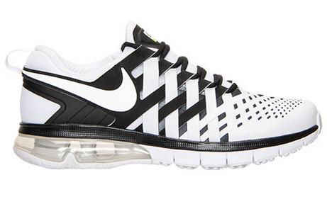 Nike Fingertrap Air Max Men's Training Shoes Black/White