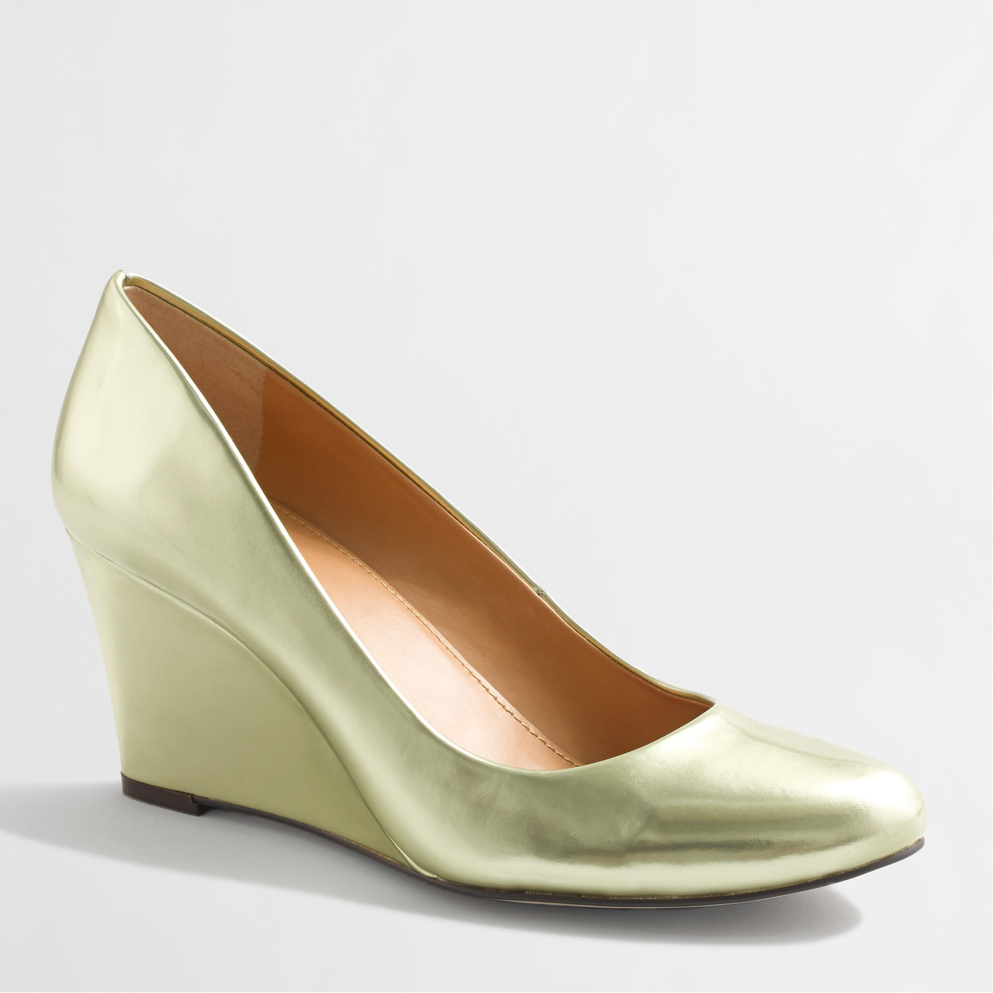 J.Crew Factory Women's Metallic Wedges