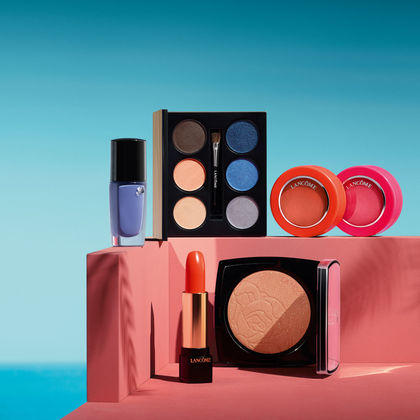 15% Off + 4 Deluxe Samples When You Buy 3 Items From The Lancome Summer 2015 Makeup Collection