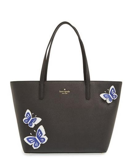 kate spade new york 'wing it - small harmony' leather tote