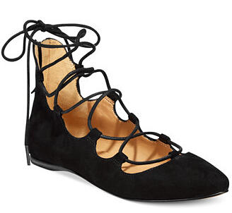 $56.74 Nine West Signmeup Flats