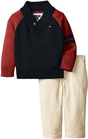 Tommy Hilfiger Baby Boys' Zachary Two-Piece Set