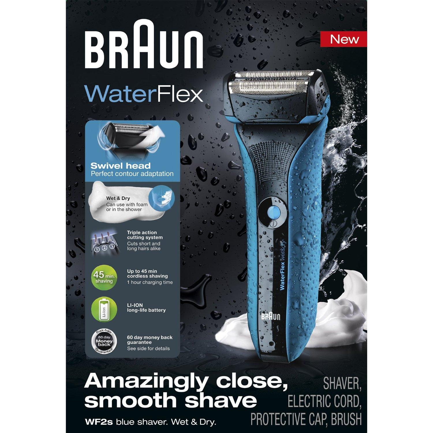 Braun Waterflex Wet and Dry Shaver
