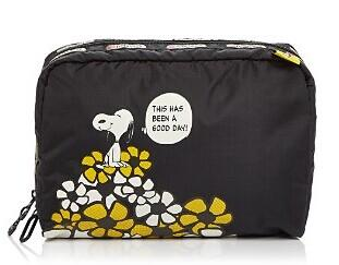 LeSportsac Peanuts Extra Large Rectangular Cosmetic Case @ Bloomingdales