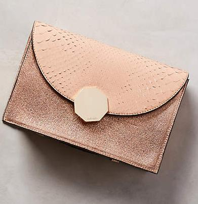 $279.96 Meli Melo Shimmerscale Clutch @ anthropologie