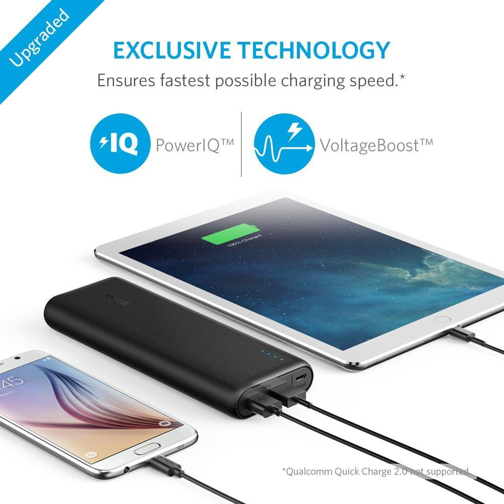 Anker PowerCore 15600mAh Portable Power Bank