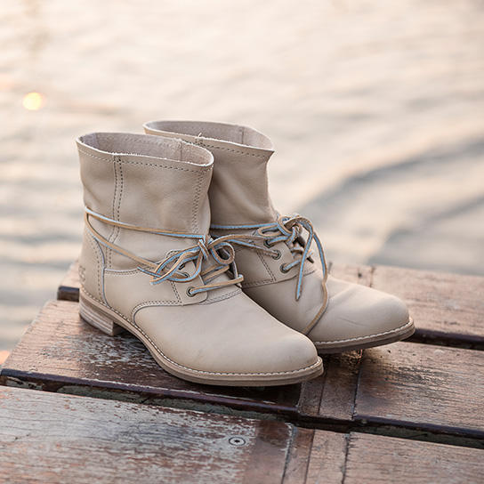 Up to 70% Off Lace Up Boots @ 6PM