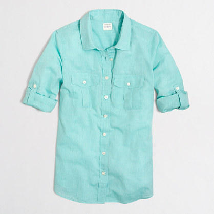 40% Off J.Crew Factory Washed Shirts