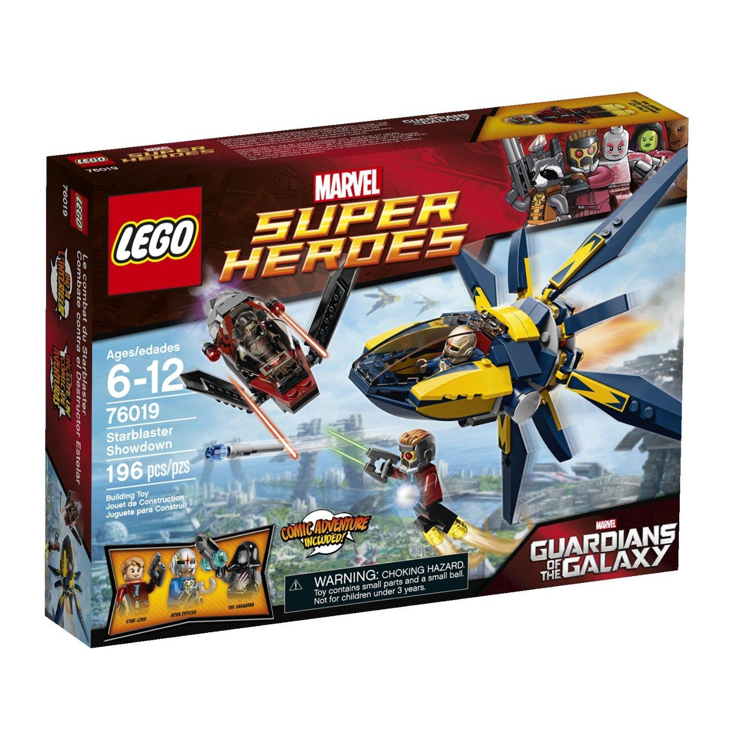 $12.59 LEGO Superheroes 76019 Starblaster Showdown Building Set