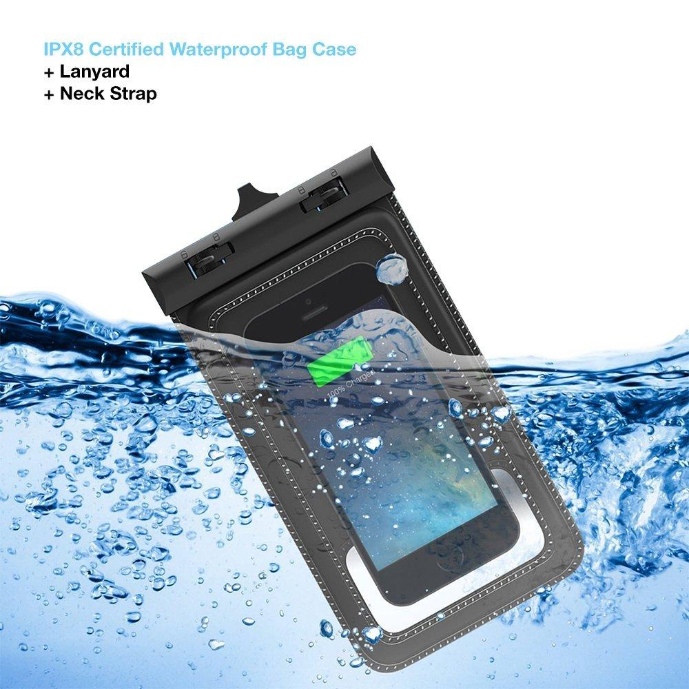 Tethys Universal Waterproof Pouch for Smartphones
