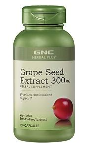 Dealmoon Exclusive: $11.24 GNC Herbal Plus® Grape Seed Extract (300 mg, 100 Capsules)