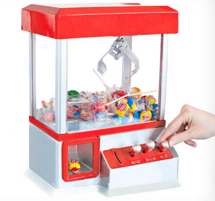 Recommended Amazon Item of the Week $25.70 The Electronic Claw Game