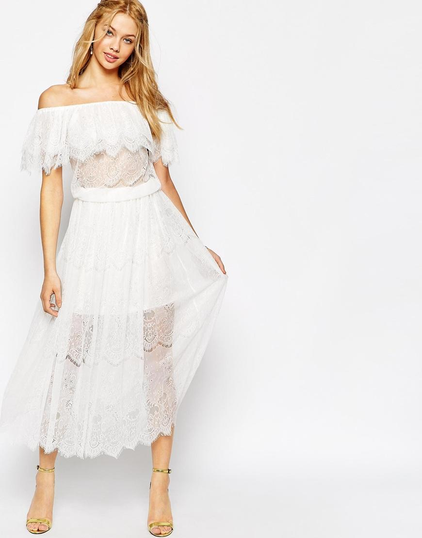 From $49.5 Summer White Dress Sale @ ASOS