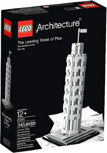 LEGO Architecture The Leaning Tower of Pisa