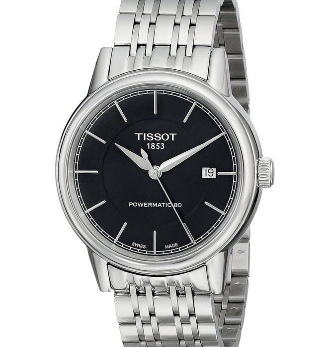Tissot Men's T Classic Swiss Automatic Silver Watch