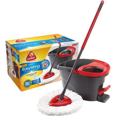 $39.98 + Free shipping O-Cedar EasyWring Spin Mop & Bucket System, 3 pc