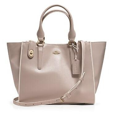 COACH Crosby Carryall Satchel in Colorblock Leather @ Bloomingdales