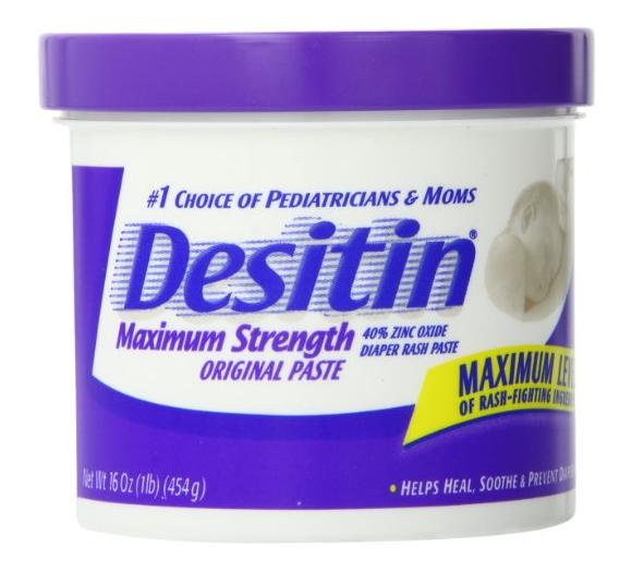 Desitin Diaper Rash Paste Maximum Strength, 16-Ounce Jar