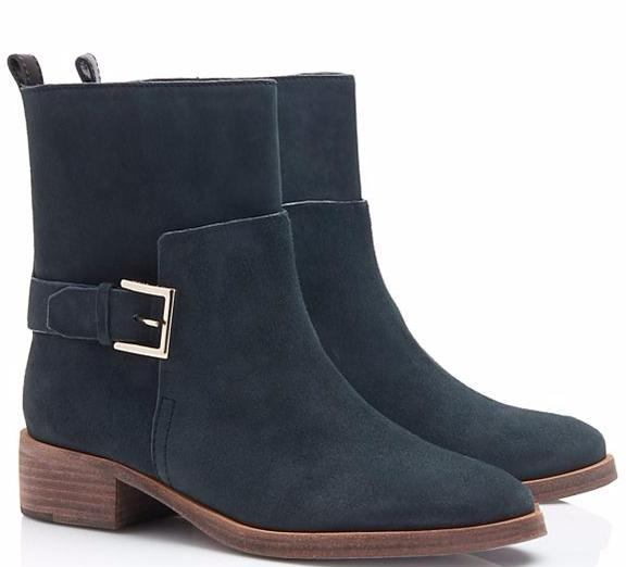 RILEY MID BUCKLE BOOTIE @ Tory Burch