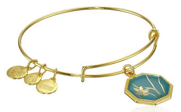 Alex and Ani Truth and Honor Narcissus Expandable Wire Bangle Bracelet