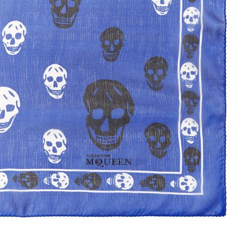 Up to 35% Off Alexander McQueen Silk Skull Scarf On Sale @ Gilt