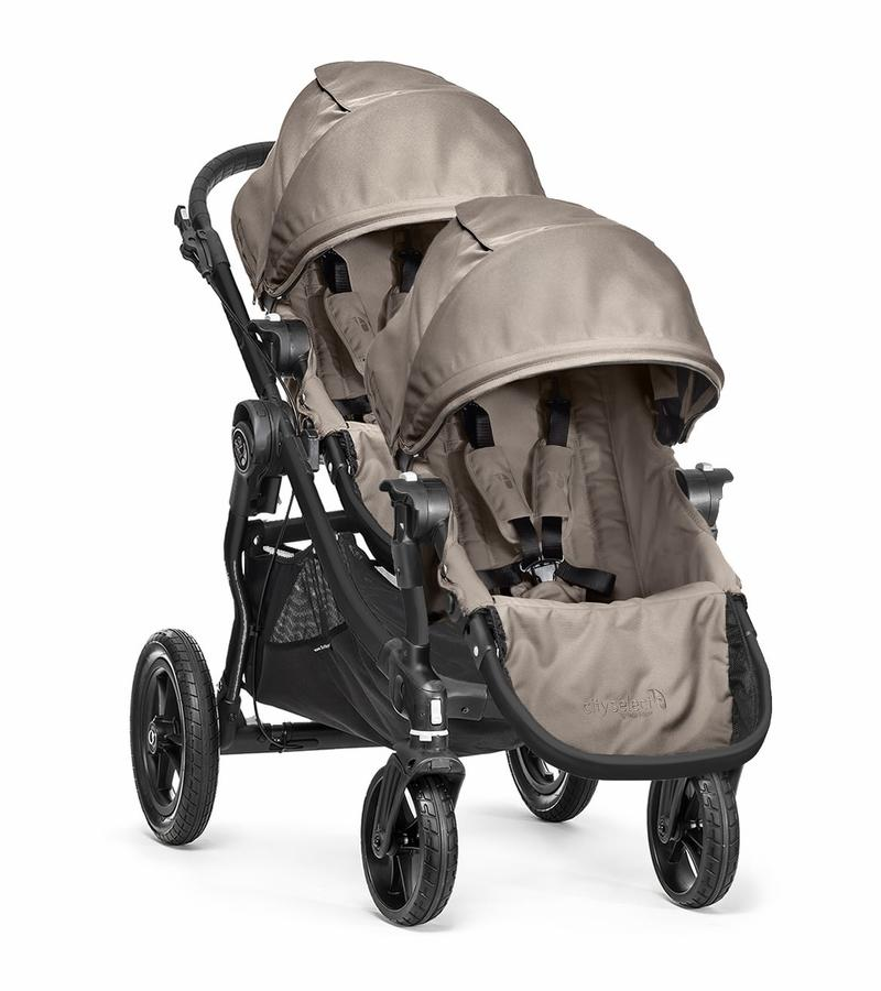 Baby Jogger City Select Double Stroller - Sand