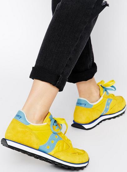 Saucony Originals Jazz Low Pro Woman's Shoes On Sale