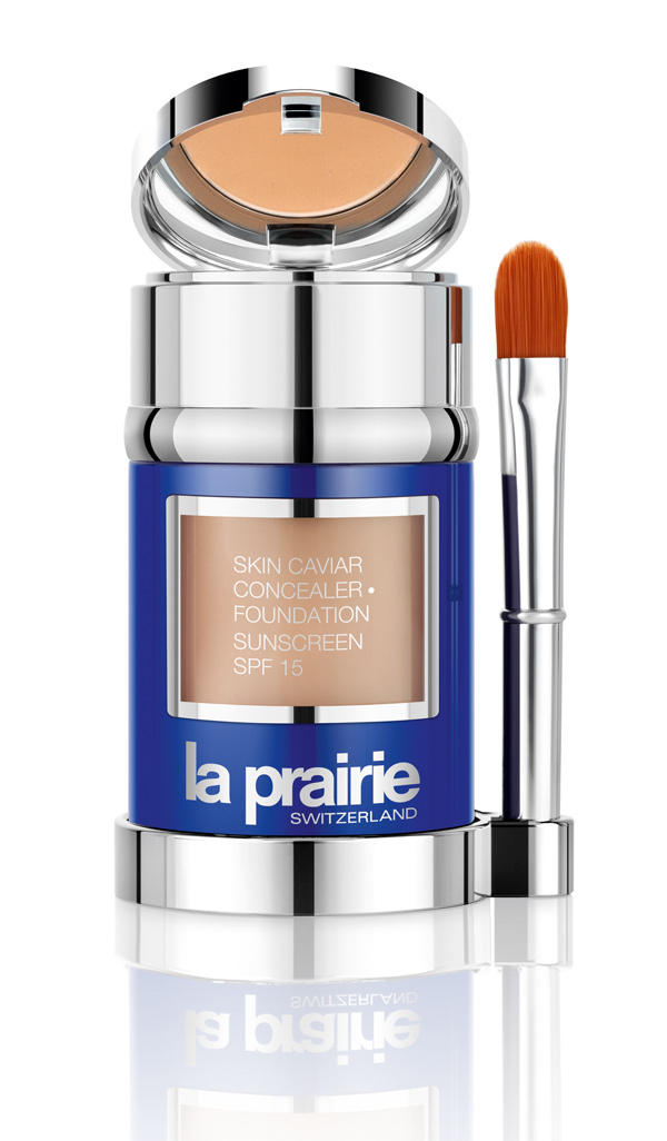 New Release La Prairie launched New Skin Caviar Concealer Foundation