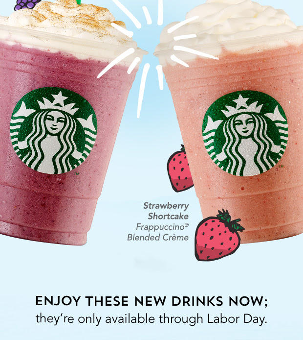 2 New Limited Time Frappuccino Blended Beverage Flavors @ Starbucks