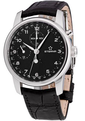 Eterna Soleure Moonphase Chronograph Men's Watch 8340.41.44.1175 (Dealmoon Exclusive)