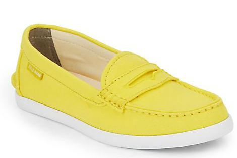 Cole Haan Nantucket Canvas Loafers @ Saks Off 5th