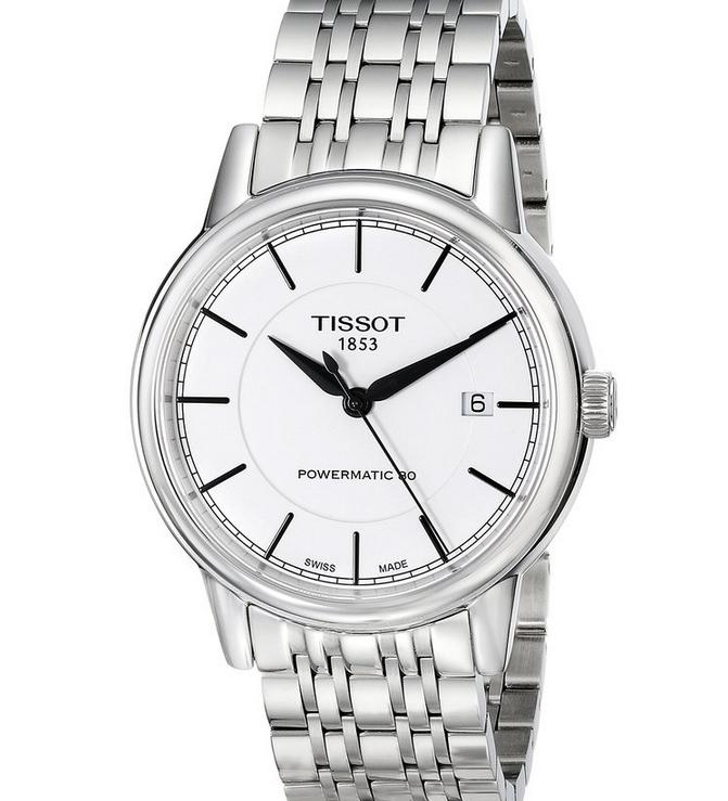 $419 Tissot Men's T Classic Swiss Automatic Silver Watch