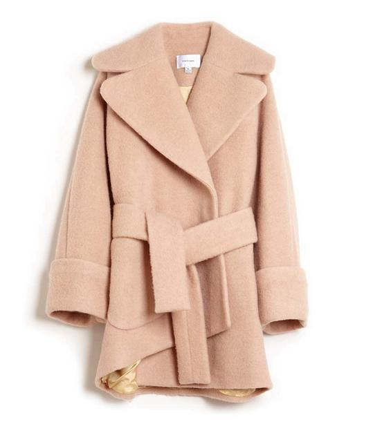 Carven Asymmetrical Robe Coat