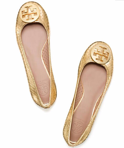 PERFORATED REVA BALLET FLAT @ Tory Burch
