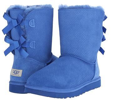 $143.5 UGG Bailey Bow Exotic Scales