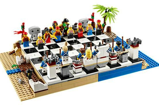 $49.79 LEGO Pirates Chess Set
