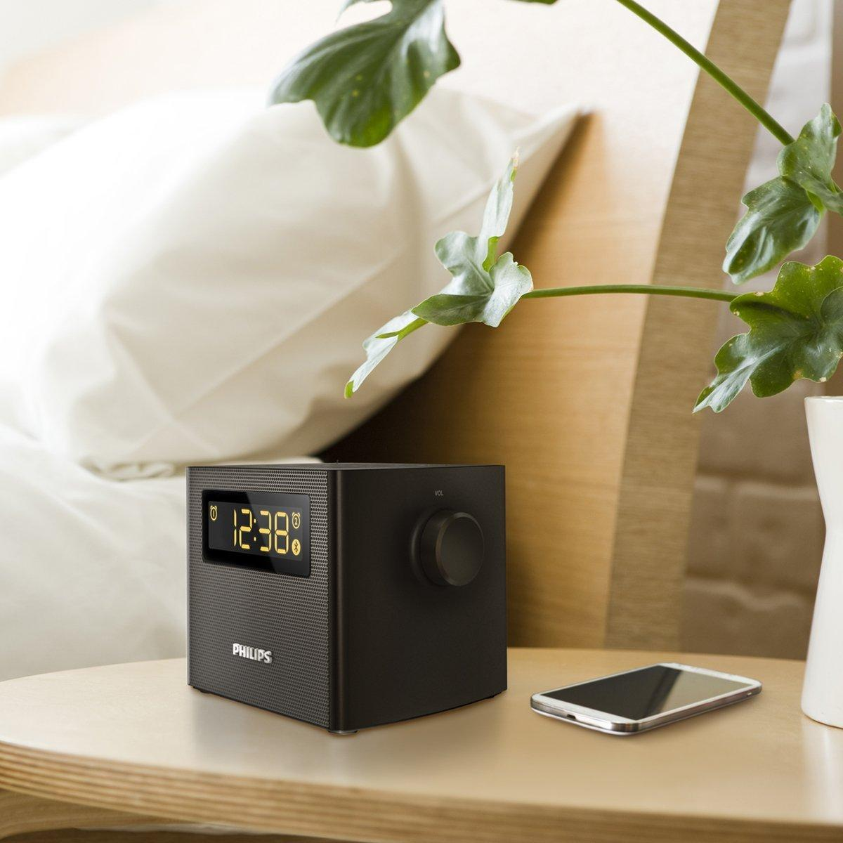 Philips AJT4400B/37 Bluetooth Clock Radio